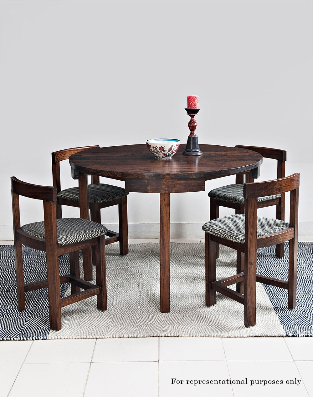 Daig Wood Elfin Round Dining Table