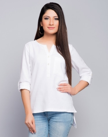 0c68d2e172f21c Buy Womens  Tops   Shirts From Fabindia Sale Online