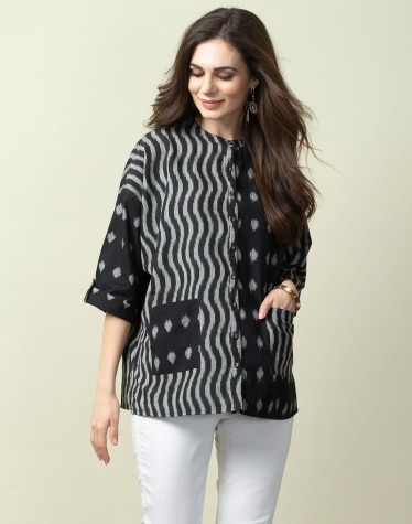a0c41b307 Tops & Shirts - Buy Women's Tops & Shirts Online - Fabindia.com