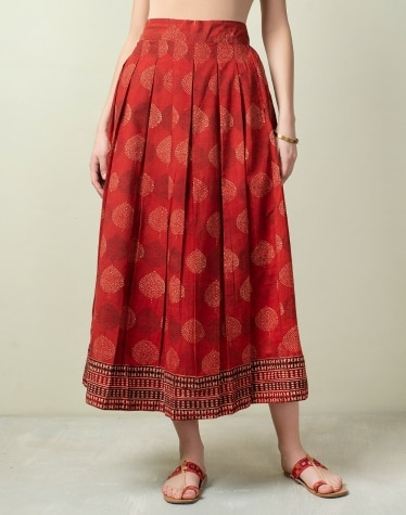 7cdd2ca1be Buy Women's Skirts Online - Fabindia.com