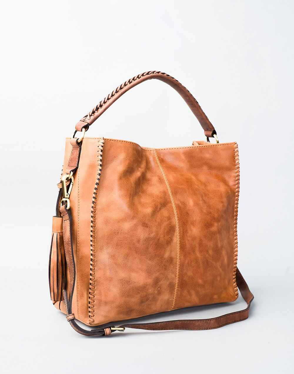 6bf948444d3 Buy Fabindia Leather Border Detail Tote Bag Online in India ...