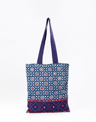 dc630b97cacd Buy Fabindia Leather Stitch Sling Bag Online in India – Fabindia.com