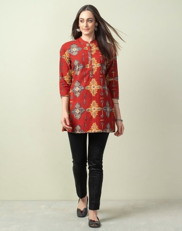 9bec6700c4f Tunics- Buy Fabindia Tunics for Women Online - Fabindia.com